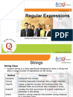 Strings & Regular Expressions