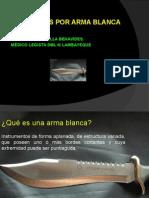 Lesiones Por Arma Blanca