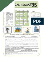 natural disasters worksheet 2