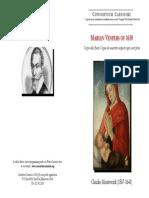 Consortium Carissimi Monteverdi Vespers Program