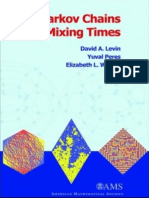 Levin + Perez + Markov + Wilmer (2008). Markov chains and mixing times