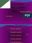 Jesús Antonio Ramírez Cortes 601 Historial Académico