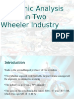Two Wheelers Industry in India