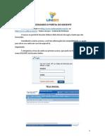 Manual - Acessando o Portal Docente - Unibr