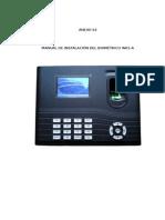 Manual de Usuario ZK IN01A