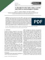 Estimating Palmer Drought Severity Index using a wavelet.pdf