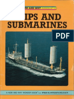How and Why Wonder Book of Ships and Submarines