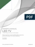 Sanyo 39inch Lcd Tv (1080p) Dp39842kgm Manual | Digital Television