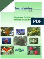 Espécies Frutífeas Do Sul Do Brasil