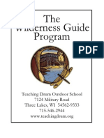 Teaching Drum Outdoor School - Wilderness Guide Program