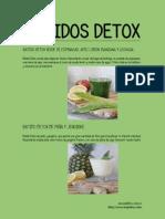 Batidos Detox