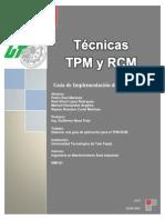 Guia de Implementación de TPM-RCM