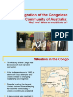 The Congolese Community in Australia 2