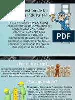Gestion de La Produccion Industrial