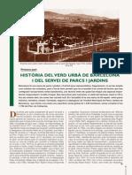 HISTÒRIA DEL VERD URBÀ DE BARCELONA I DEL SERVEI DE PARCS I JARDINS