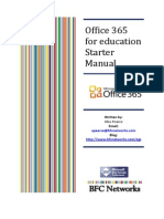Office 365foreducationStarterManual
