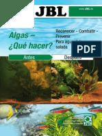 Manual contra las algas en el acuario