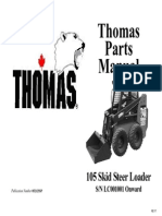 Thomas 105 Parts Manual (LC001001-LC002191) - SN LC001369 of 103S