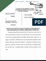 Jackson v. Atlanta Falcons Football Club - Document No. 3