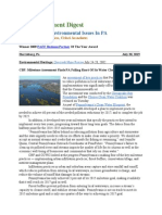 Pa Environment Digest July 20, 2015