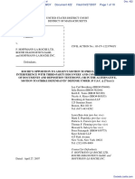 Amgen Inc. v. F. Hoffmann-LaRoche LTD et al - Document No. 422