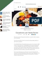 2-Educational Loan Needs Review _ Divyakant Mishra _ LinkedIn