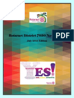 District Newsletter July 2015 (English)
