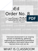 Deped Order No.8 Series 2015