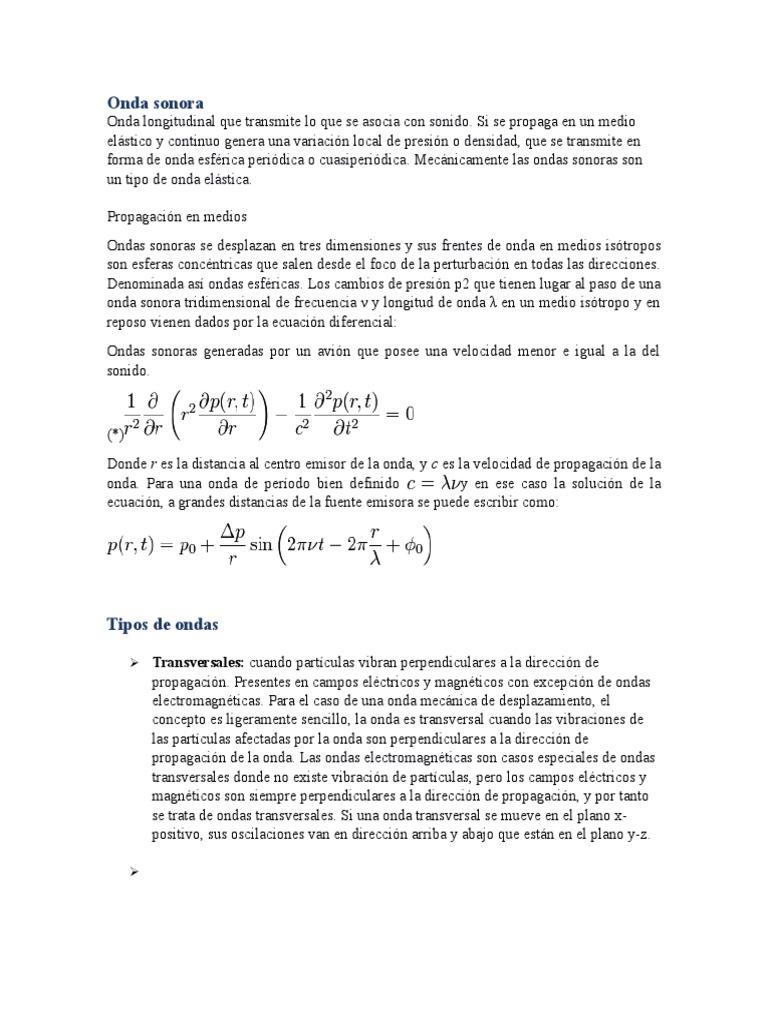 Lujo Anatomía De Una Onda De Sonido Ilustración - Imágenes de ...
