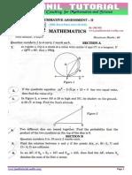 10th Class Solution of Cbse Board Paper 2015 Maths Set2