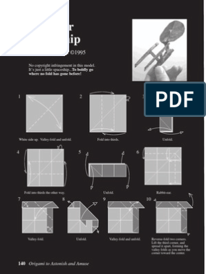 Origami to Astonish and Amuse - PDF Free Download | 396x298