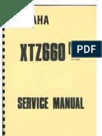 yamaha xt 600 xt600 work full service repair manual 1990 1999