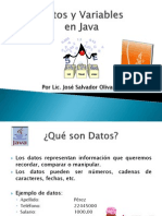 Datos y Variables
