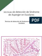 Técnicas de Detección de Síndrome de Asperger En