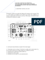 Manual del transmisor de corriente Scintrex TSQ-3