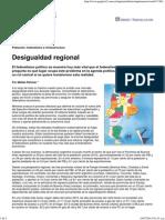 Página 12 Cash Desigualdad Regional