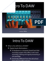 Intro to DAW Power Point