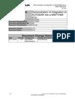 Autosar Tr Integrationintommthmiecu