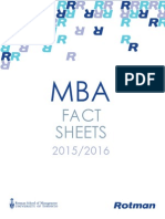 2015-2016 Rotman Fact Sheet