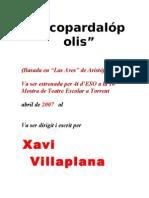 texto  CUCOPARDALÓPOLiS __basado en LAS AVES de Aristófanes_