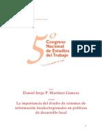 Economics - Diseño de Sistemas de Información Local-Regional - Llaneza - 2001 - Journal