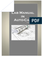 Auto CAD Lab Manual by Shrungare R R