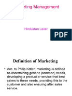 All company and its brand and product: Hindustan Unilever