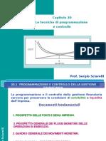 20. Tecniche Di Programmazione e Controllo