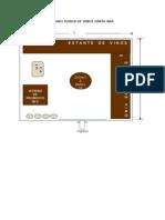 Plano Tienda de Vinos Santa Ana
