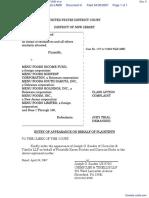 PIRCHES et al v. MENU FOODS INCOME FUND et al - Document No. 6