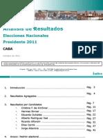 Analisis Post Electoral - Cdad Autonoma de Buenos Aires - Elecciones Presidenciales