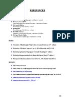 Internship Report References