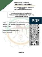 Informe Salida de Campo Morro Solar
