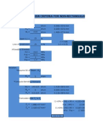 Balance Design Criteria for Non-rectangular Section
